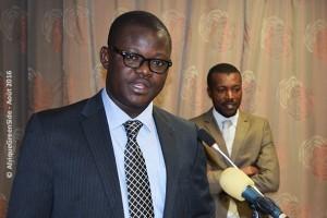 M. AWAFO Edwards, secrétaire du partenariat Afrique LEDS